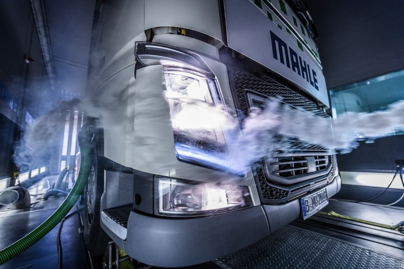 MAHLE WHR truck wind tunnel test